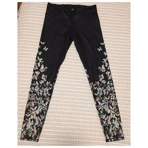 Alo Yoga Tights with Butterfly Detail